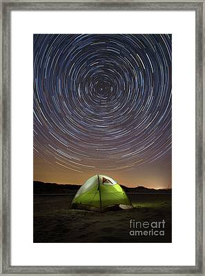 Spinning While We Sleep  Framed Print by Michael Ver Sprill