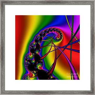 Spiral 122 Framed Print by Rolf Bertram