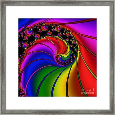 Spiral 124 Framed Print by Rolf Bertram
