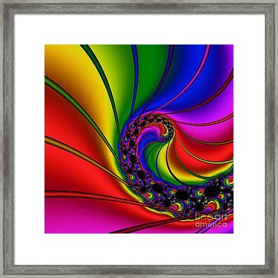 Spiral 125 Framed Print by Rolf Bertram