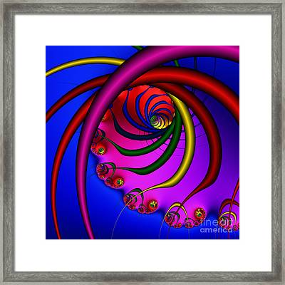 Spiral 216 Framed Print by Rolf Bertram