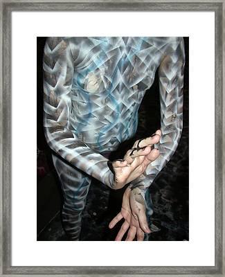 Spiral 8 Framed Print