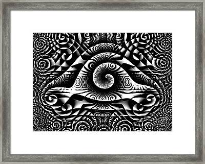 Spiral Abstract 1 Framed Print