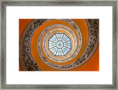 Framed Print featuring the photograph Spiral by Brian Bonham