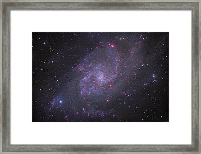 Spiral Galaxy M 33 Framed Print by Brian Peterson