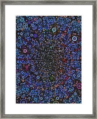 Spiral Gallexy Framed Print
