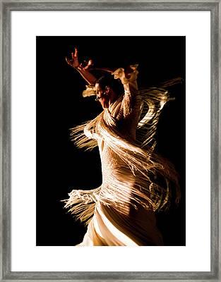 Spiral Marta Framed Print