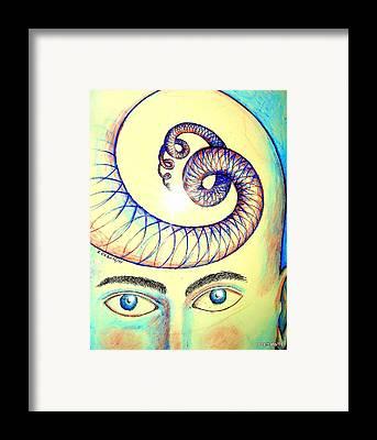 Innermost Thoughts Digital Art Framed Prints