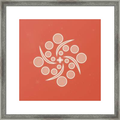 Spiral Of Life Framed Print