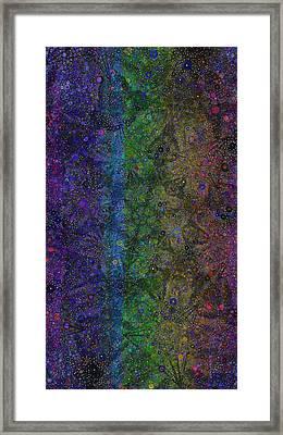 Spiral Spectrum Framed Print