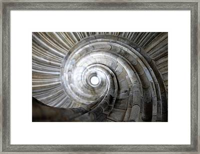 Spiral Staircase Framed Print by Falko Follert