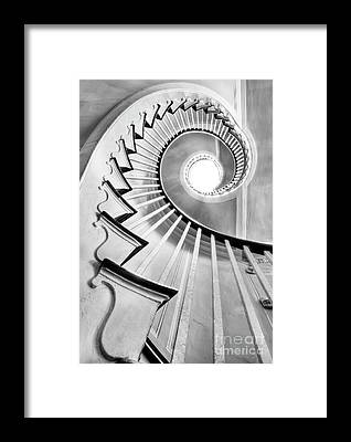 Staircase Framed Prints