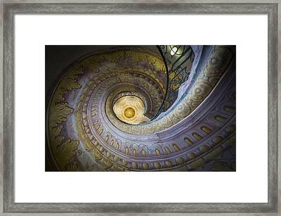 Spiral Staircase Melk Abbey I Framed Print