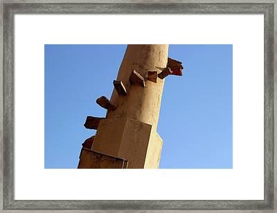 Spiral Stairs Framed Print by Prakash Ghai