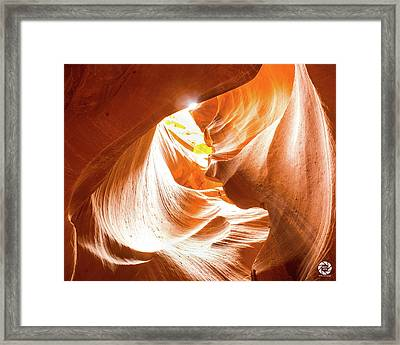 Spiral To The Sun Framed Print