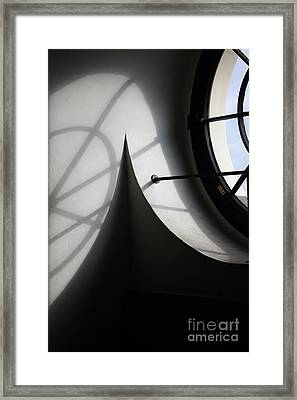 Spiral Window Framed Print