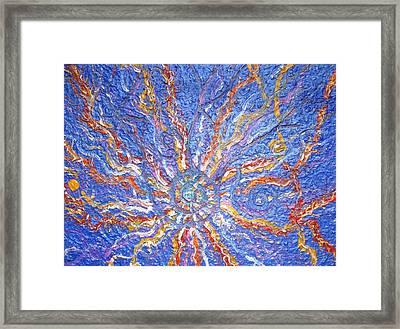 Spirale Money Magnet Framed Print