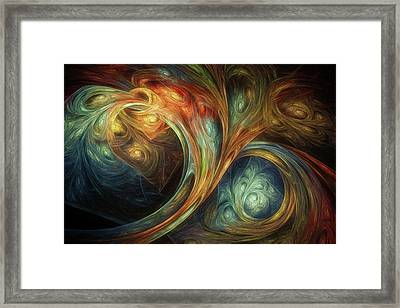 Spiralem Ramus Framed Print