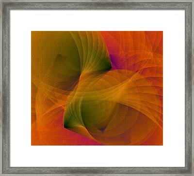 Spiraling Insight With Complicated Continuation Framed Print