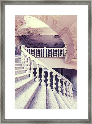 Spiraling Up Framed Print by Svetlana Sewell