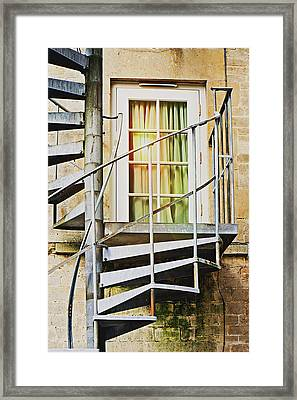 Spiralling... Framed Print by Tom Gowanlock