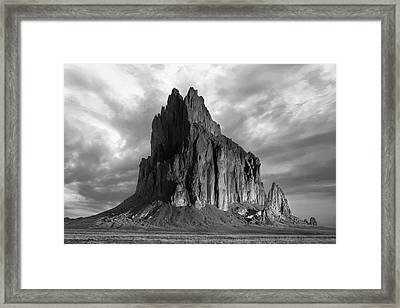 Spire To Elysium Framed Print