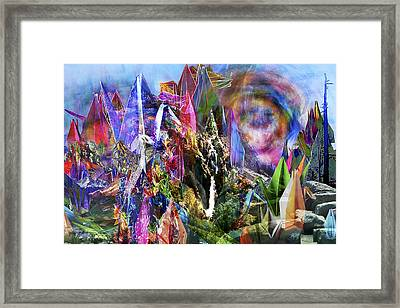 Spires Framed Print