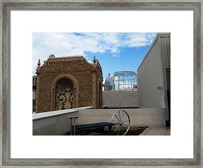 Spires Framed Print by Tom Hefko