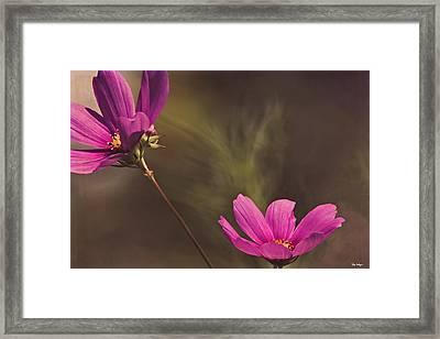 Spirit Among The Flowers Framed Print