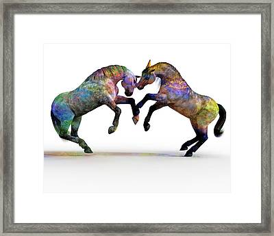 Spirit And Spiritual  Framed Print by Betsy Knapp