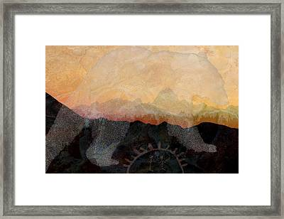 Spirit Bear # 6 Framed Print
