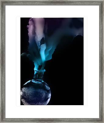 Spirit Bottle Framed Print