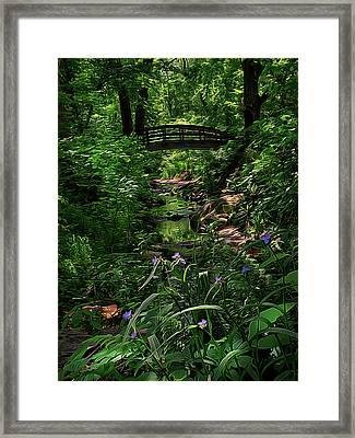 Spirit Bridge 2 Framed Print by William Horden