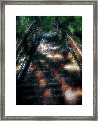 Spirit Bridge Framed Print by William Horden