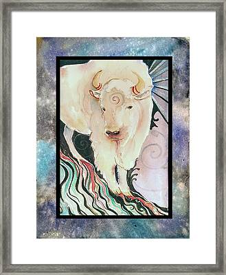 Spirit Buffalo Framed Print