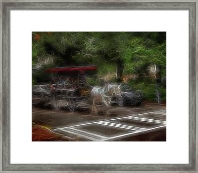 Spirit Carriage 1 Framed Print by William Horden