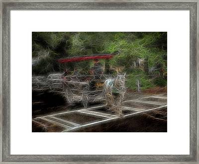 Spirit Carriage 2 Framed Print by William Horden