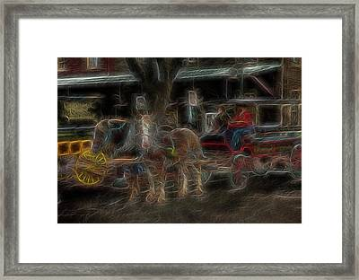 Spirit Carriage 3 Framed Print by William Horden
