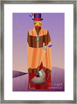 Spirit Civilized Framed Print