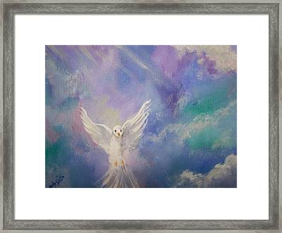 Spirit Come Framed Print by Wendy Smith