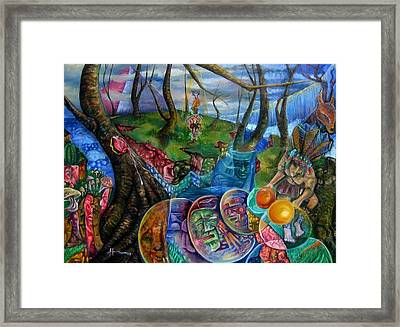 Spirit Dance Framed Print by Horacio  Montes