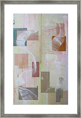 Spirit Dance On Double Doors Framed Print by Asha Carolyn Young
