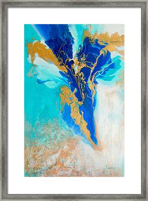 Spirit Dancer Framed Print by Irene Hurdle