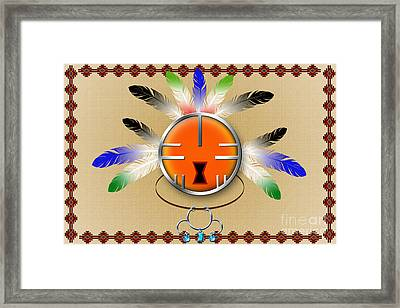 Spirit Face Framed Print