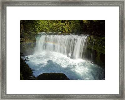 Spirit Falls Framed Print