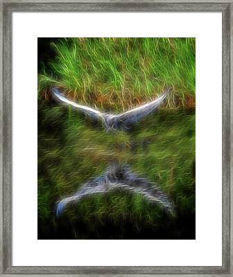 Spirit Garden 7 Framed Print by William Horden