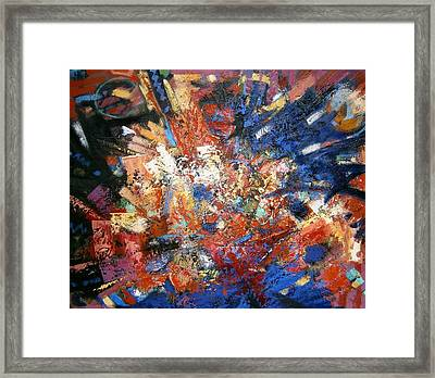 Framed Print featuring the painting Spirit by Gary Coleman