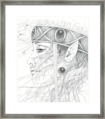 Spirit Guide Framed Print by Christine Winters