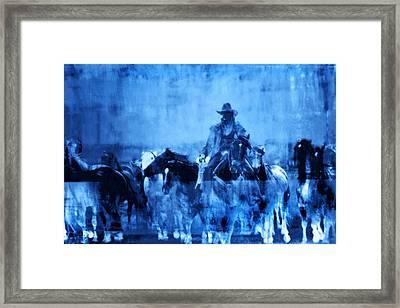 Spirit Herd Framed Print by Nick Sokoloff