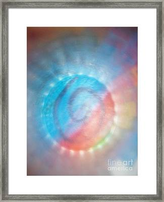 Spirit In Lights Framed Print by Sean-Michael Gettys